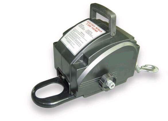 Argano verricello elettrico x barche 12v 2700kg argano for Argano elettrico 220v con telecomando